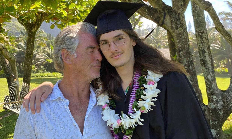 Pierce Brosnan se muestra orgulloso de su hijo Dylan, que planea seguir los pasos del actor