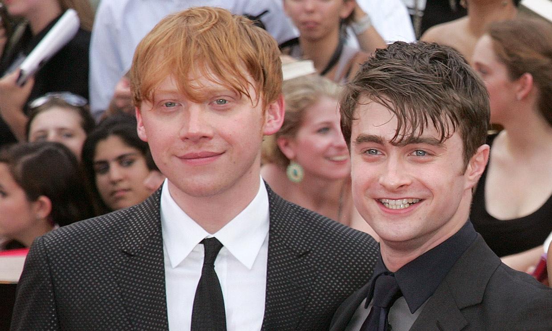 La reacción de Daniel Radcliffe al saber que Rupert Grint, su compañero en 'Harry Potter', ha sido padre
