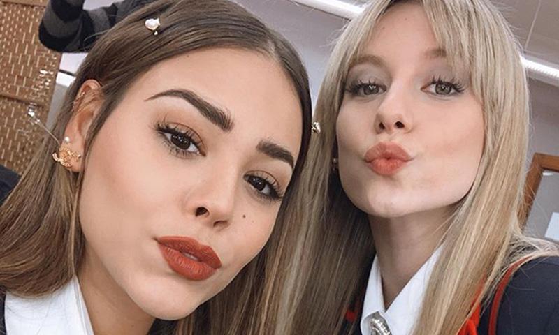El 'hit' de cuarentena de Danna Paola en el que colaboran sus amigos más conocidos