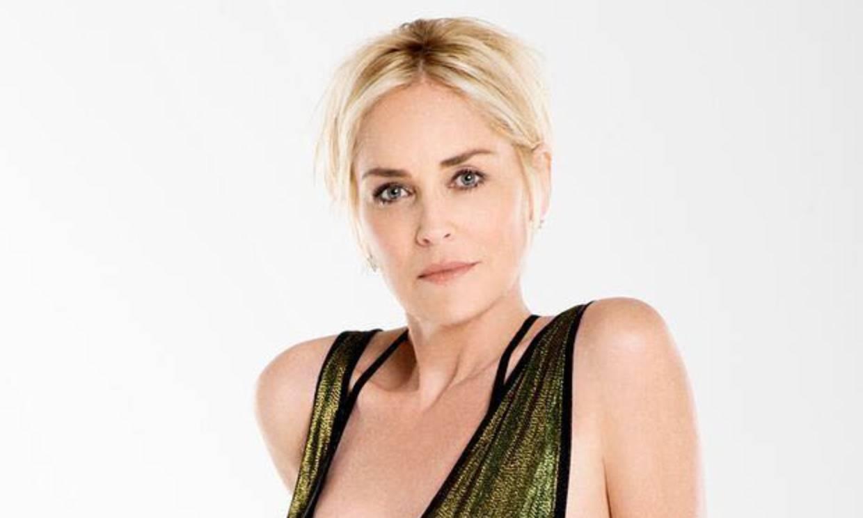 El extraño look de baño de Sharon Stone ¿estará inspirado en Marvel?