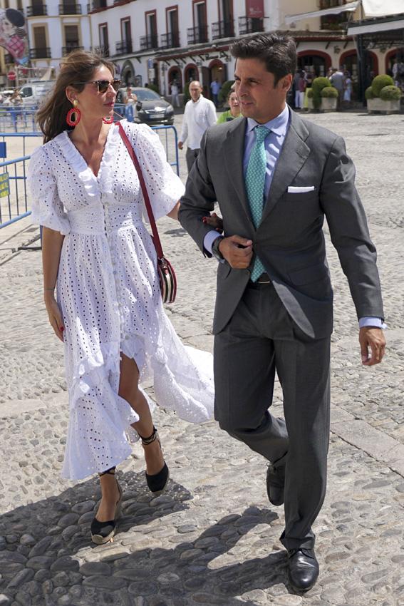Lourdes Montes y Francisco Rivera