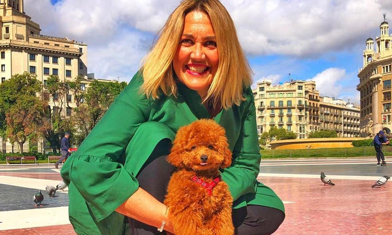 El perro de Mayka Navarro se cuela en un directo con Ana Rosa Quintana