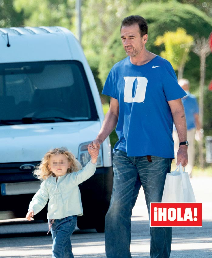 Alessandro Lequio y su hija