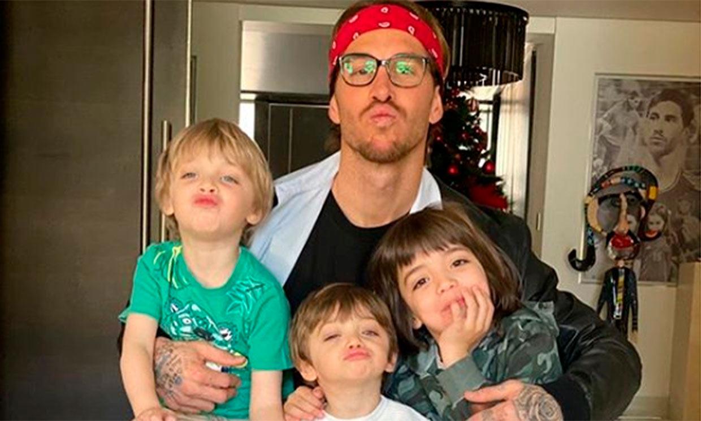 ¿Tras los pasos de papá? Sergio Ramos, el mejor entrenador para sus hijos