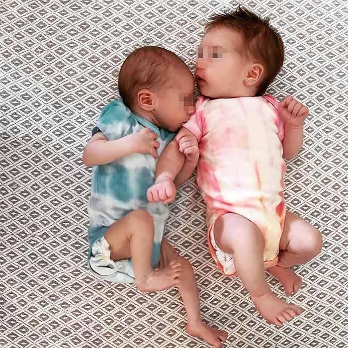 Camila y Oliver, la hija y el sobrino de Elena Tablada