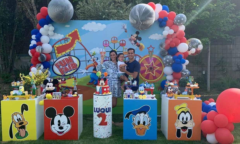 El espectacular cumpleaños temático que Lucas Vázquez y Macarena Rodríguez han organizado a su hijo