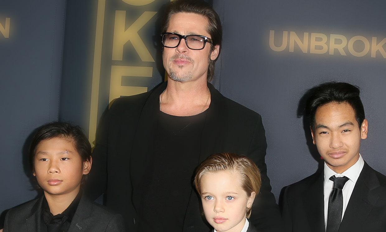 Brad Pitt celebra el cumple de Shiloh con todos sus hijos, incluido Maddox