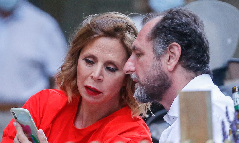 Ágatha Ruiz de la Prada disfruta de una nueva cita con Luis Gasset y le lanza un piropazo