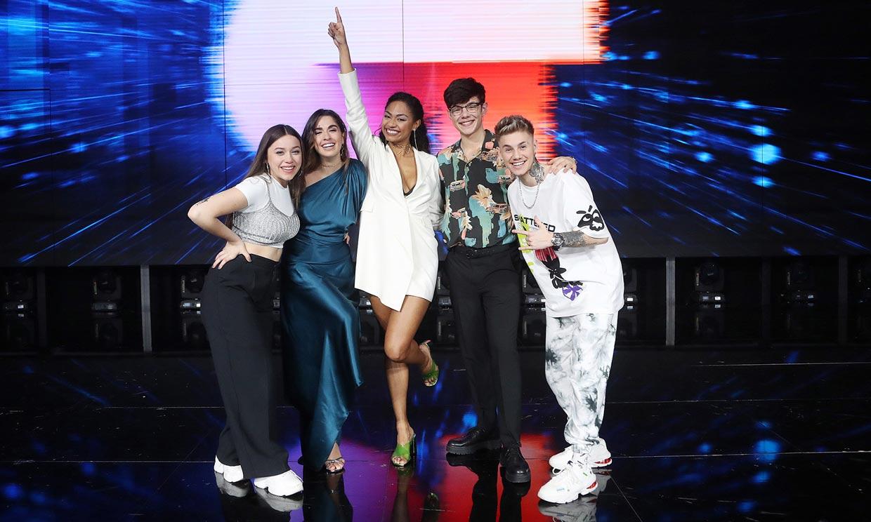 Nia, Flavio, Anaju, Eva y Hugo... ¿conoces a los finalistas de 'Operación triunfo'?