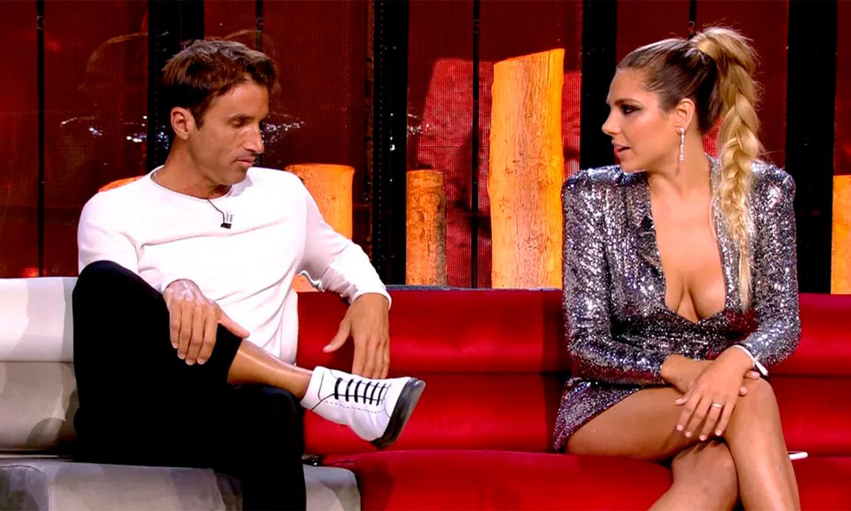 Ivana Icardi y Hugo Sierra en el debate final de supervivientes 2020
