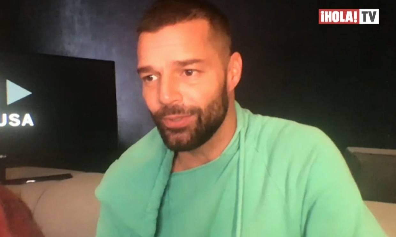 Ricky Martin cuenta cómo ha afrontado la cuarentena con sus hijos ¡y lo que ha aprendido de ellos!