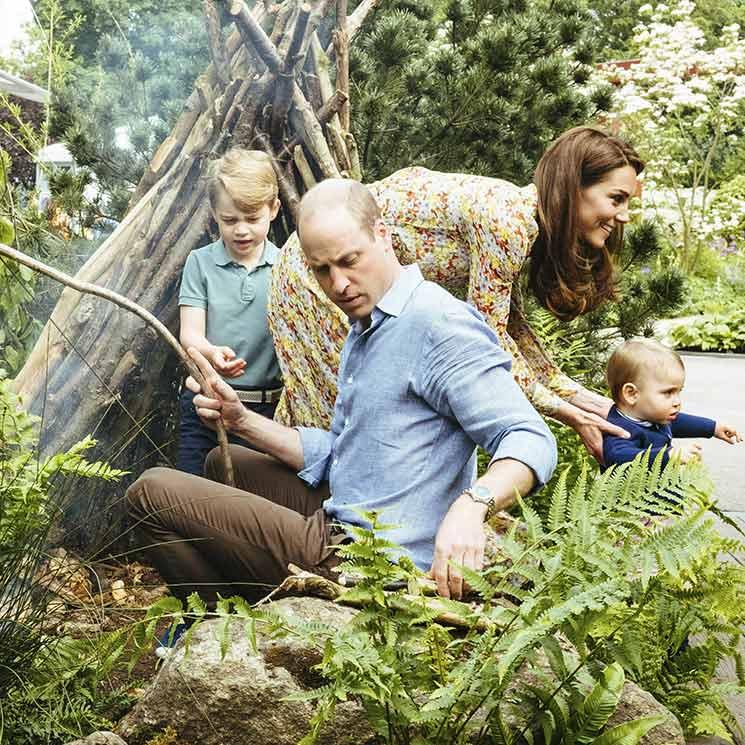 Cómo ser buenos padres durante la pandemia siguiendo las pautas de los Duques de Cambridge