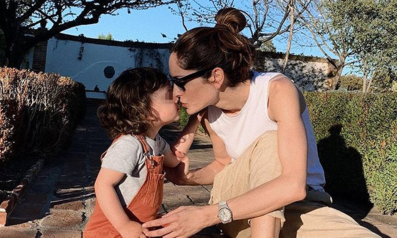 Las inspiradoras palabras de Eugenia Silva a su hijo Jerónimo cuando cumple tres años