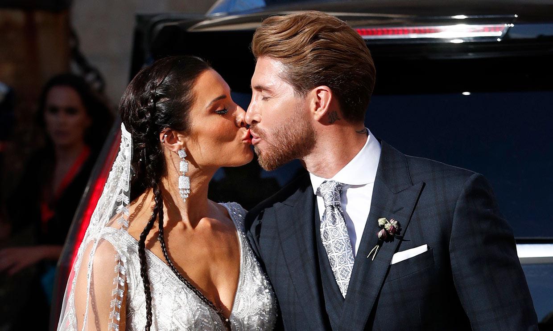400 invitados, una fiesta con un poblado indio y un dragón… los mejores momentos de la boda de Pilar Rubio y Sergio Ramos