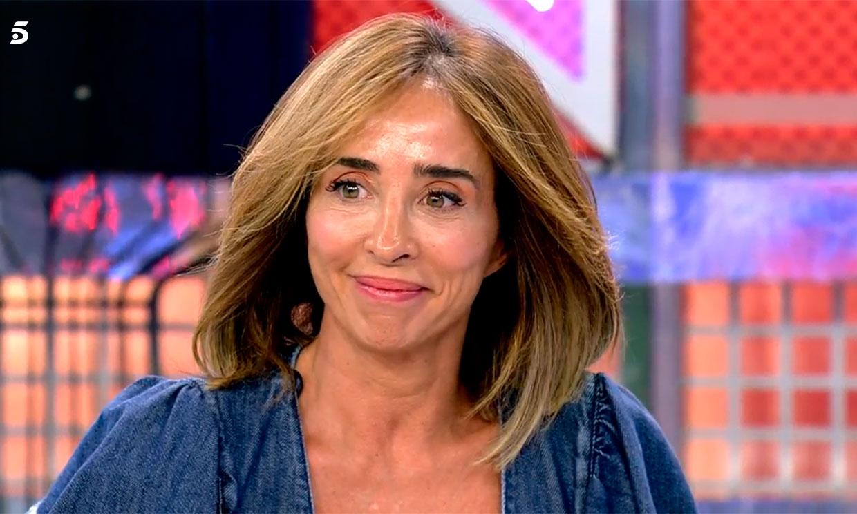 El insólito 'accidente' de María Patiño en directo