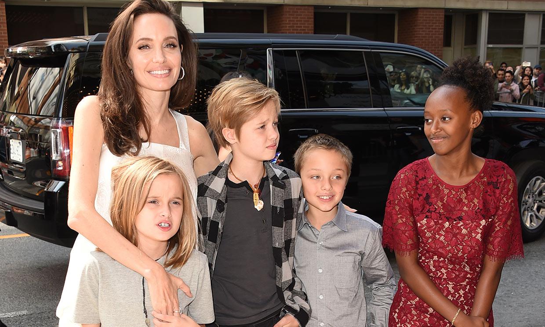 El regalo de Angelina Jolie a su hija Vivienne tras perder a su mascota