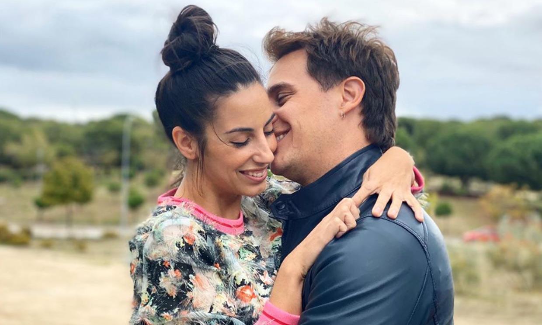 Christian Gálvez se pone romántico en el 40º cumpleaños de Almudena Cid: 'Mi musa. No me faltes nunca'