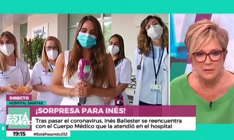 Inés Ballester se reencuentra con los médicos que la salvaron