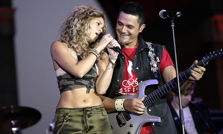 La reacción de Alejandro Sanz al ver a Shakira 'volando' con su monopatín