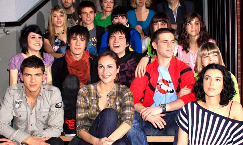 Los actores de 'Física o Química' revolucionan a sus fans con su reencuentro