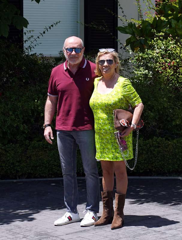 Carmen Borrego y su marido, José Carlos Bernal,