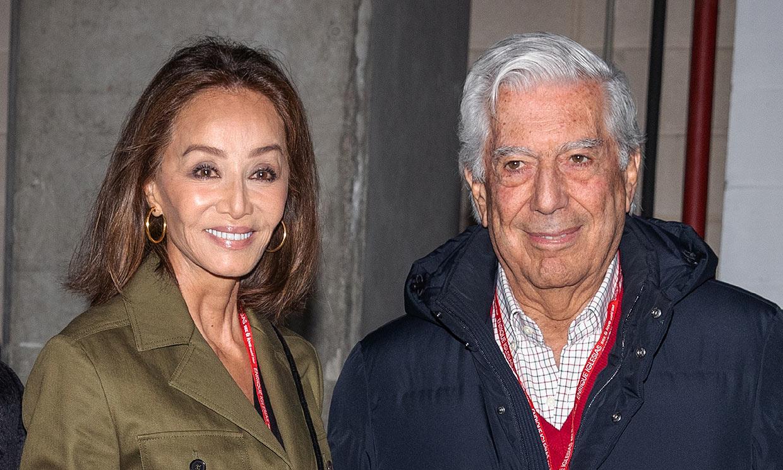 Isabel Preysler y Mario Vargas Llosa celebran cinco años de amor