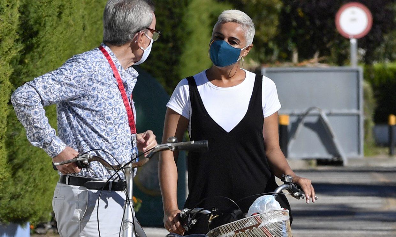 Ana María Aldón y José Ortega Cano recuperan el tiempo perdido con un romántico paseo en bicicleta