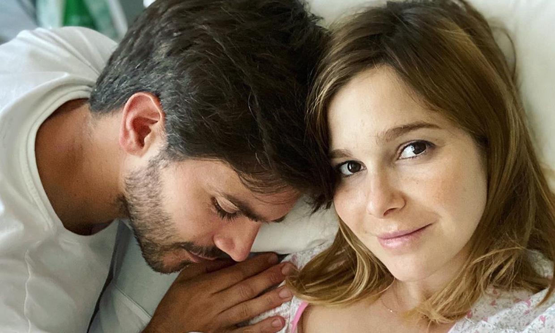 La nueva vida de Natalia Sánchez y Marc Clotet como familia de cuatro