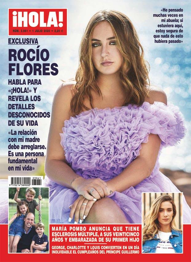 Rocío Flores en ¡HOLA!: planes de futuro, la reconciliación con su madre, el paso por Supervivientes...