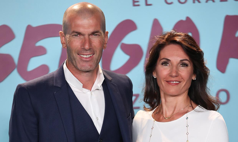 Así es Véronique Fernández, la mujer que no ha soltado nunca de la mano a Zidane