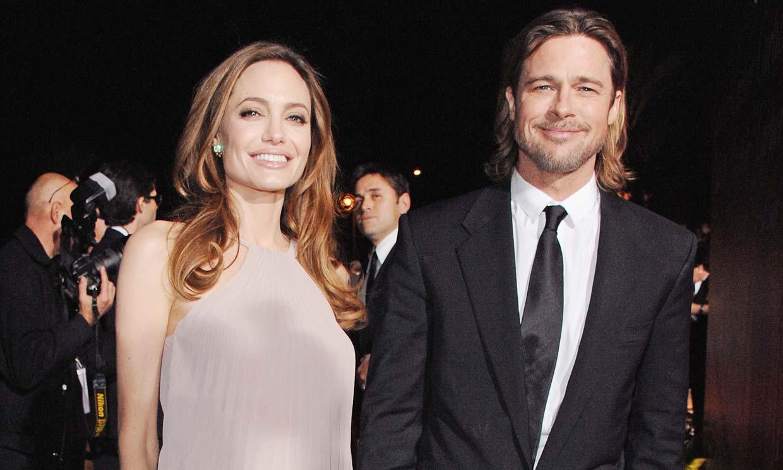 Brad Pitt, visto por primera vez en casa de Angelina Jolie tras su separación