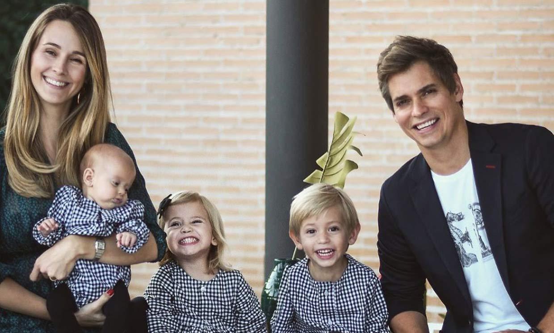 Astrid Klisans muestra los primeros pasos de su hija Álisse