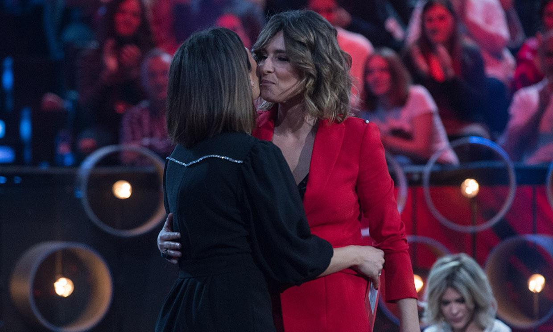 La dulce despedida de Nagore Robles a Sandra Barneda