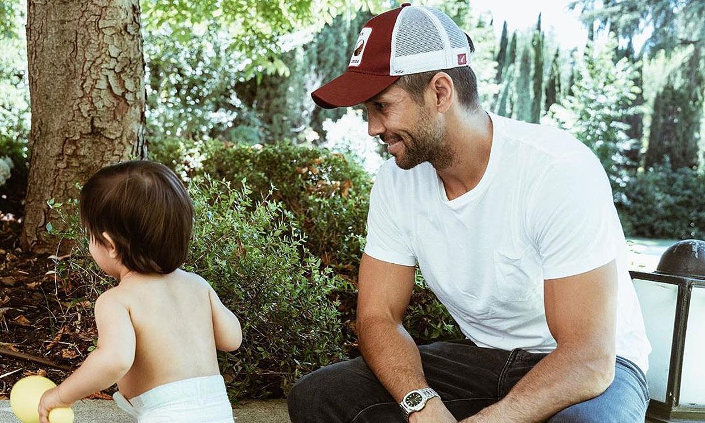 Fernando Verdasco, hipnotizado ante las ocurrencias de su hijo Miguel ¿qué estará tramando?