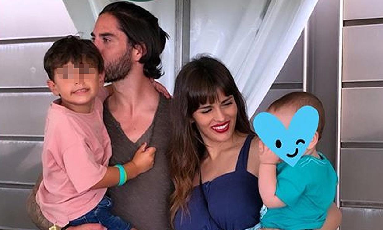 Sara Sálamo e Isco Alarcón, con la emoción a flor de piel en el primer cumpleaños de su hijo Theo
