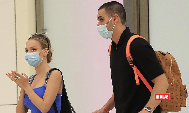 EXCLUSIVA: Primeras imágenes de Ester Expósito y Alejandro Speitzer juntos en España