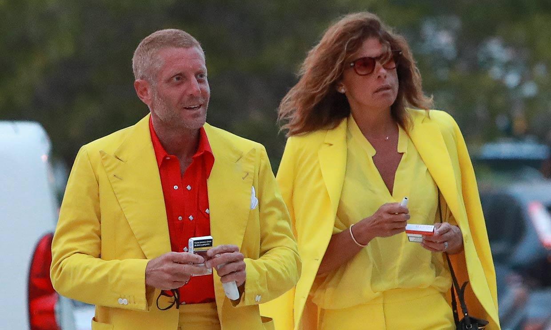 Lapo Elkann y Joana Lemos exprimen sus vacaciones en Ibiza muy bien conjuntados