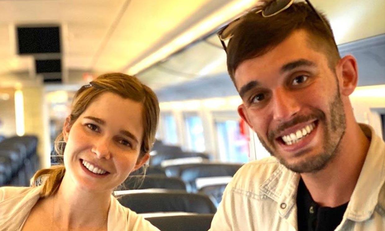El encuentro familiar de Natalia Sánchez y Víctor Elías