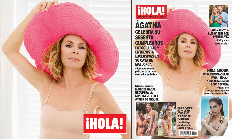 Entrevista y fotografías exclusivas en ¡HOLA!: Ágatha Ruiz de la Prada celebra su sesenta cumpleaños