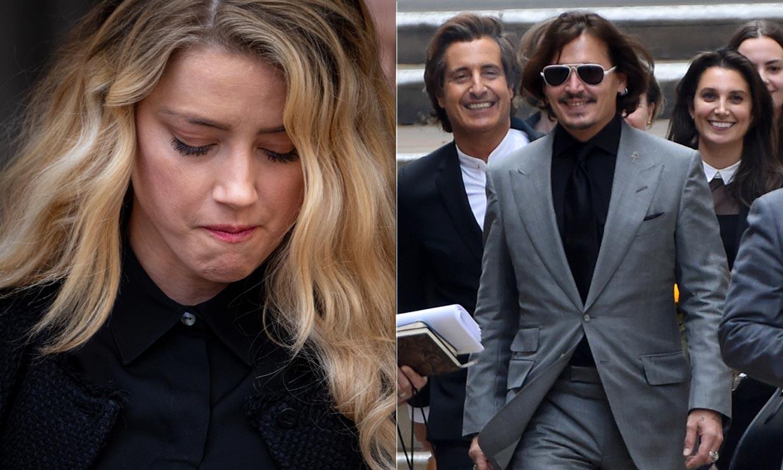 Las lágrimas de Amber Heard en el final del juicio de Johnny Depp