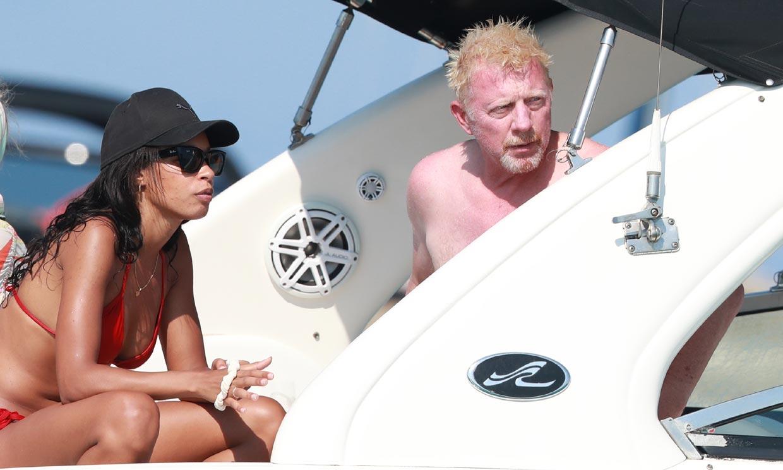 Boris Becker le muestra a su novia Lilian los paradisíacos rincones de Ibiza
