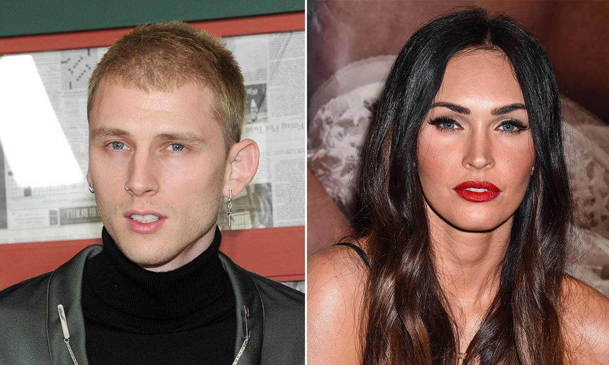 Megan Fox y Machine Gun Kelly publican su primera foto juntos