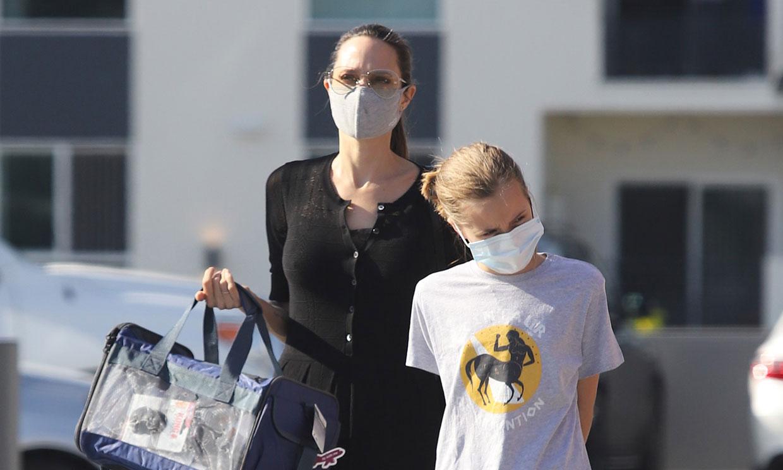 Angelina Jolie, tarde de chicas con su hija Vivienne tras la visita de Brad Pitt