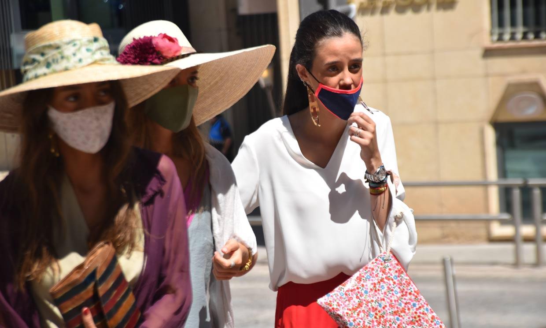 Victoria de Marichalar marca estilo en la boda de su prima Blanca, en Soria