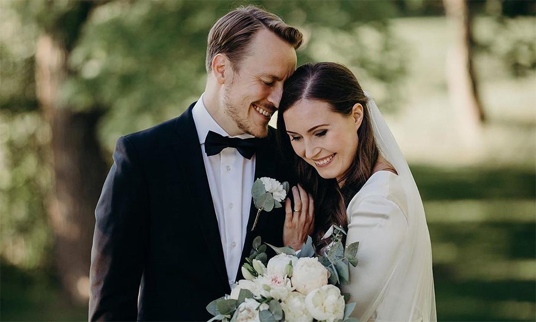 Sanna Marin, primer ministra finlandesa, se casa con el exfutbolista Markus Räikkönen