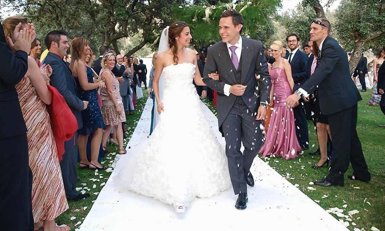 Christian Gálvez y Almudena Cid celebran diez años de casados desvelando una anécdota de su boda