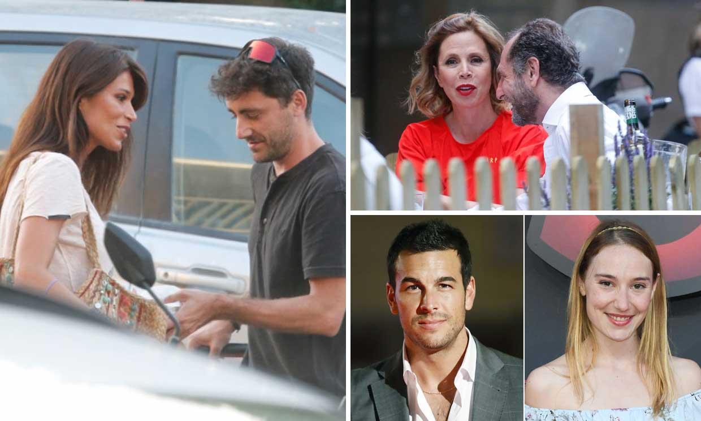 Mario Casas, Sonia Ferrer, Ágatha Ruiz de la Prada..., 'celebrities' que estrenan pareja este verano