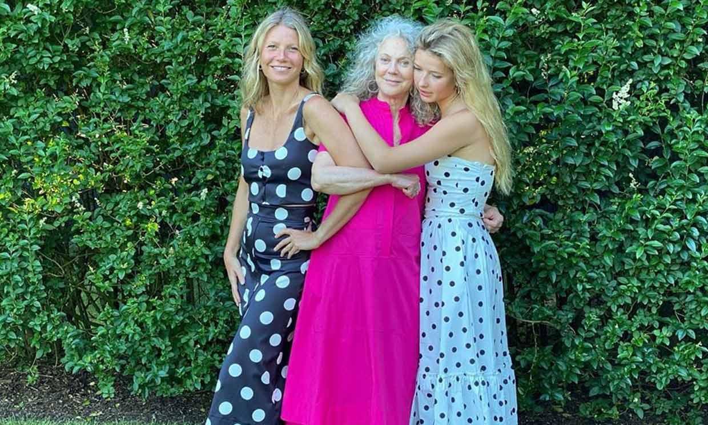 ¡Tres gotas de agua! Gwyneth Paltrow comparte una imagen con su madre y su hija Apple