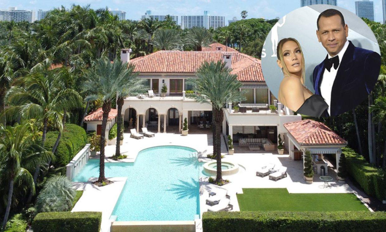 Así es la casa de 40 millones de dólares que se han comprado Jennifer Lopez y Alex Rodríguez en Miami