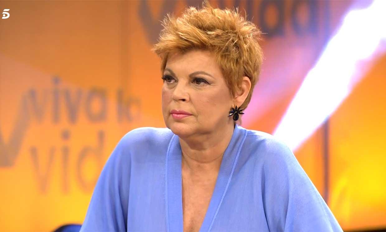 El enfado de Terelu Campos en pleno directo: 'Yo ya me fui de un programa, me voy de otro tranquilamente'